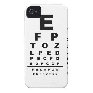Eye Test Chart iPhone 4 Case