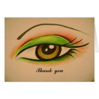 Eye Thank  you Card