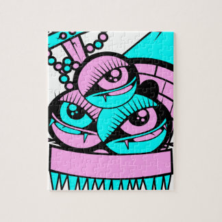 eye vampire fun jigsaw puzzle