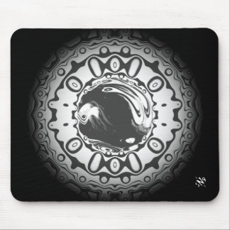 Eye with hypnotic pupil (or whatever you see) mouse pad