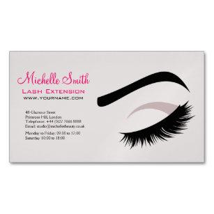 Long Lash Extension Business Cards Profile Cards Zazzle Ca