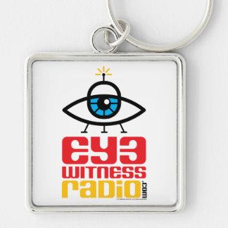 Eye Witness Radio keychain