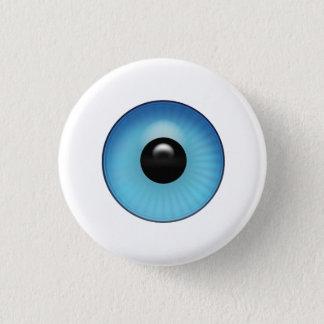 Eyeball 1 Inch Round Button
