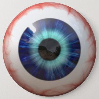 Eyeball 6 Inch Round Button