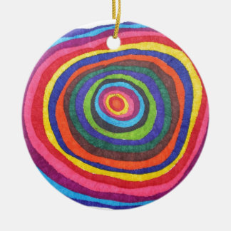 Eyeball Ceramic Ornament