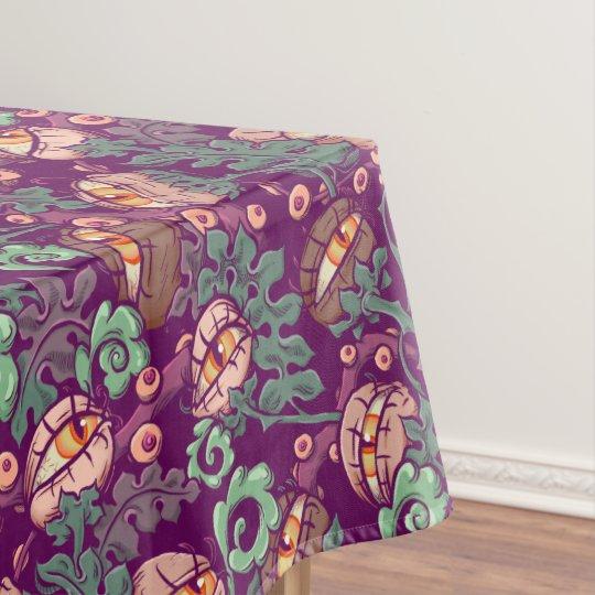 Eyeball Plants Pattern Tablecloth