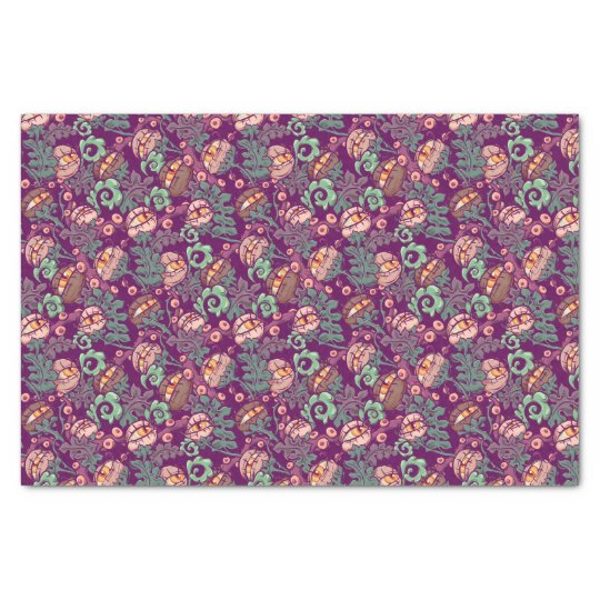 Eyeball Plants Pattern Tissue Paper