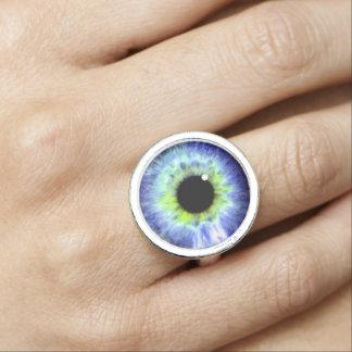 eyeball ring, ring with eye ball