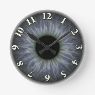 Eyeball Round Clock