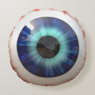 Eyeball Round Pillow