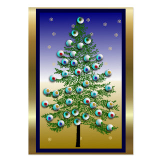 Eyeball Tree Business Card Template
