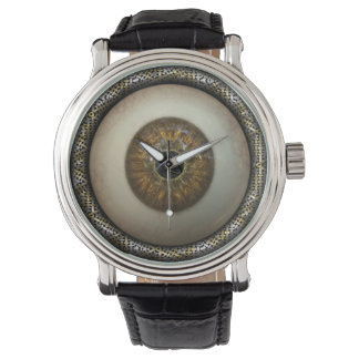 Eyeball wristwatch