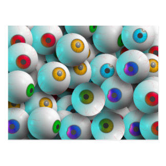 Eyeballs Postcard