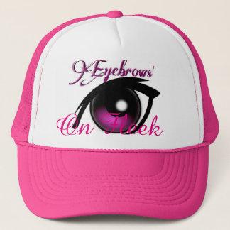 """Eyebrows On Fleek"" Trucker Hat"