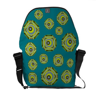 Eyeful design messenger bags