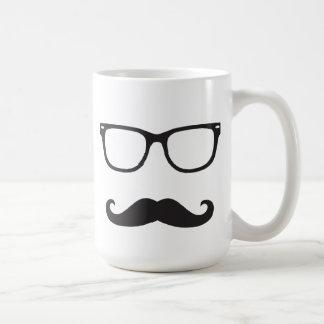 Eyeglasses and Mustache Mug