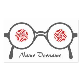Eyeglasses Pack Of Standard Business Cards