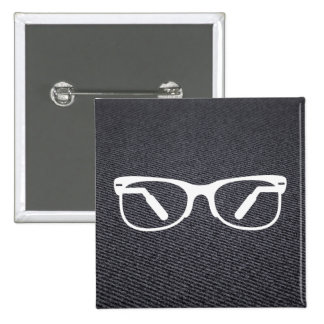 Eyeglasses Functions Pictograph 2 Inch Square Button