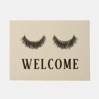 Eyelash & Brow Makeup Artist Beauty Salon Welcome Doormat