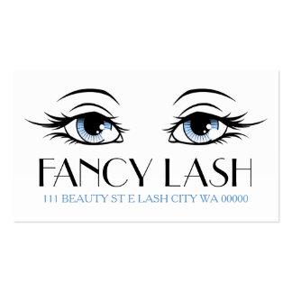Eyelash Extensions Makeup Artist Cosmetologist Business Card