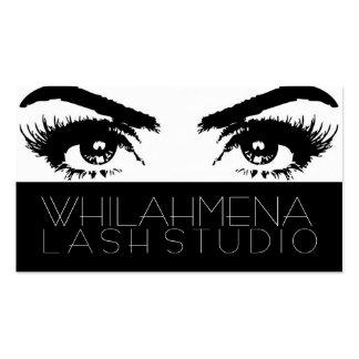 Eyelash Extensions Studio Business Card