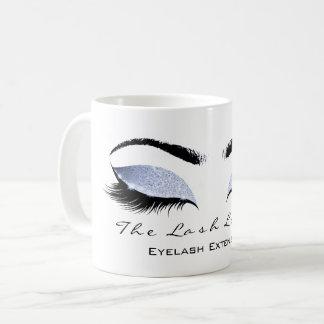 Eyelash Extention Beauty Studio Celestial Glitter Coffee Mug