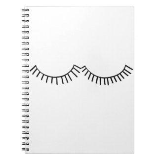 Eyelash Notebook