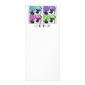 EyeLash/Permanent MakeUp Rack Cards