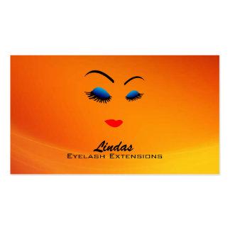 Eyelashes Business Cards