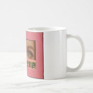 Eyelashes Coffee Mugs