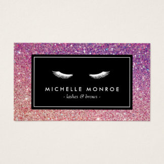 Eyelash Extensions Business Cards And Business Card
