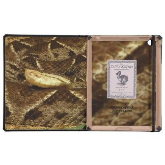 Eyeless Snake iPad Cases