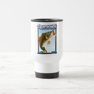 Eyemouth,Berwickshire Scotland fishing print. Travel Mug