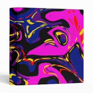 Eyes Abstract Vinyl Binders