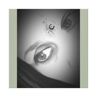 """""""Eyes """" Canvas Print"""