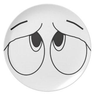 Eyes Dinner Plates