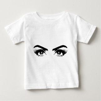 Eyes, Eyebrows & Eyelashes Baby T-Shirt