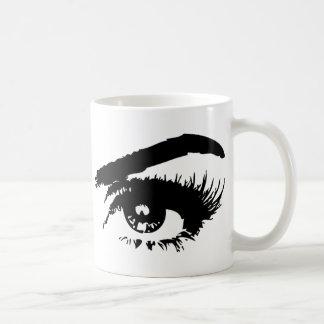 Eyes, Eyebrows & Eyelashes Coffee Mug