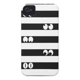 Eyes in Stripes iPhone 4 Case-Mate Case