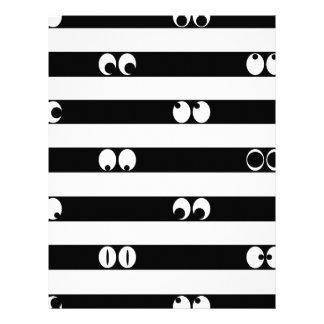 Eyes in Stripes Letterhead
