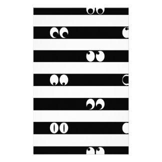 Eyes in Stripes Stationery