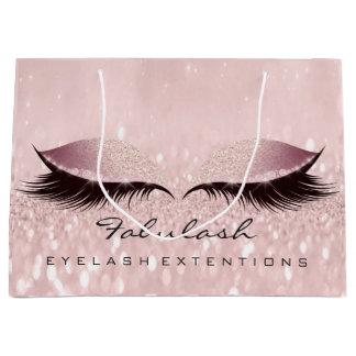 Eyes Lashes Makeup Glitter Wellness SPA Cosmetics Large Gift Bag