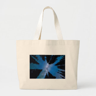 Eyes Looking Down Large Tote Bag