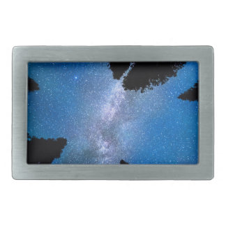 Eyes Looking Down Rectangular Belt Buckle