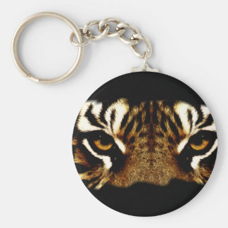 Eyes of a Tiger Keychain