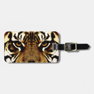 Eyes of a Tiger Luggage Tag
