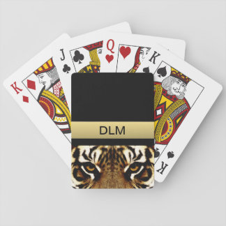 Eyes of a Tiger Poker Deck