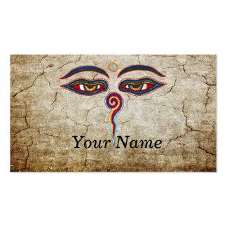 Eyes Of Buddha / Augen der Weisheit Business Card