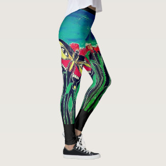 Eyes Of Butterfly Leggings