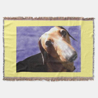 Eyes of Love Throw Blanket